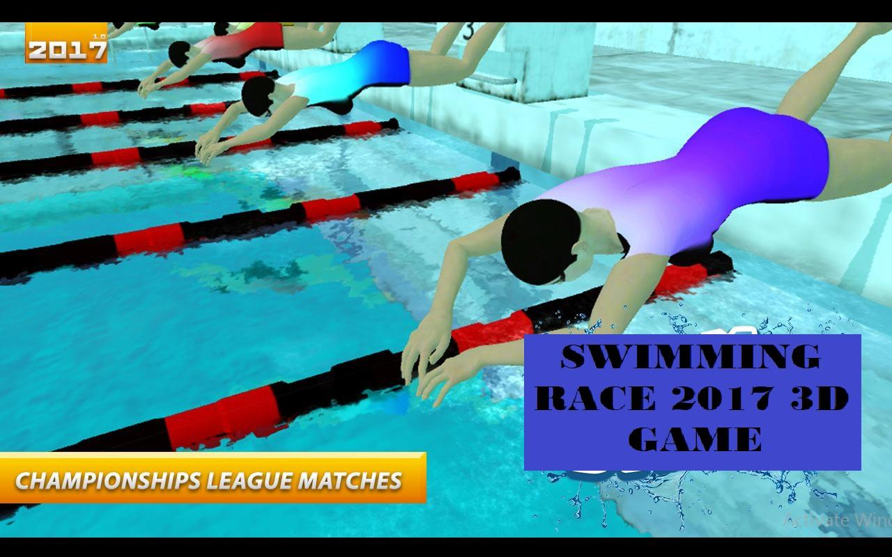 Swimming Race 2017 3d Game Android Apps On Google Play