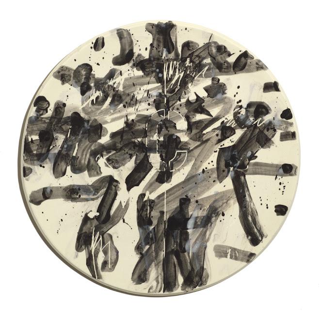 "<p> <strong>Study for Splendide-Hôtel C</strong><br /> Ceramic plate<br /> 13 ¼"" x 13 ¼""<br /> 2018</p>"