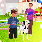 Family Pet Dog: Home Adventure Simulator 3D