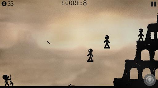 Stickman Battle - Knife Hit! apkpoly screenshots 6