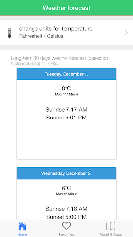 android USA weather forecast climate Screenshot 3