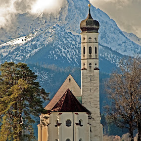 A Bavarian Church, Germany by Karen Clemente - Landscapes Travel