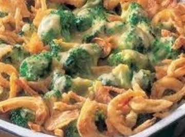 Broccoli and Cheese Casserole