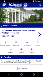 St. Vincent's Medical Center- screenshot thumbnail