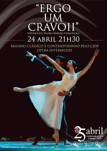 Lamego recebe Gala de Bailado pela Companhia Jovem de Dança do Porto