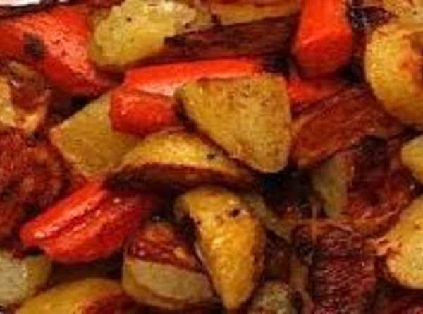 Oven Roasted Potatoes And Carrots Recipe