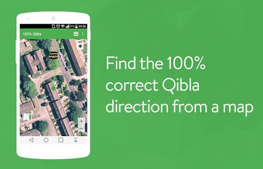 100 Qibla Finder