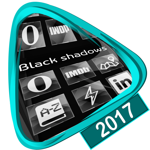 Black shadows Launcher 2017