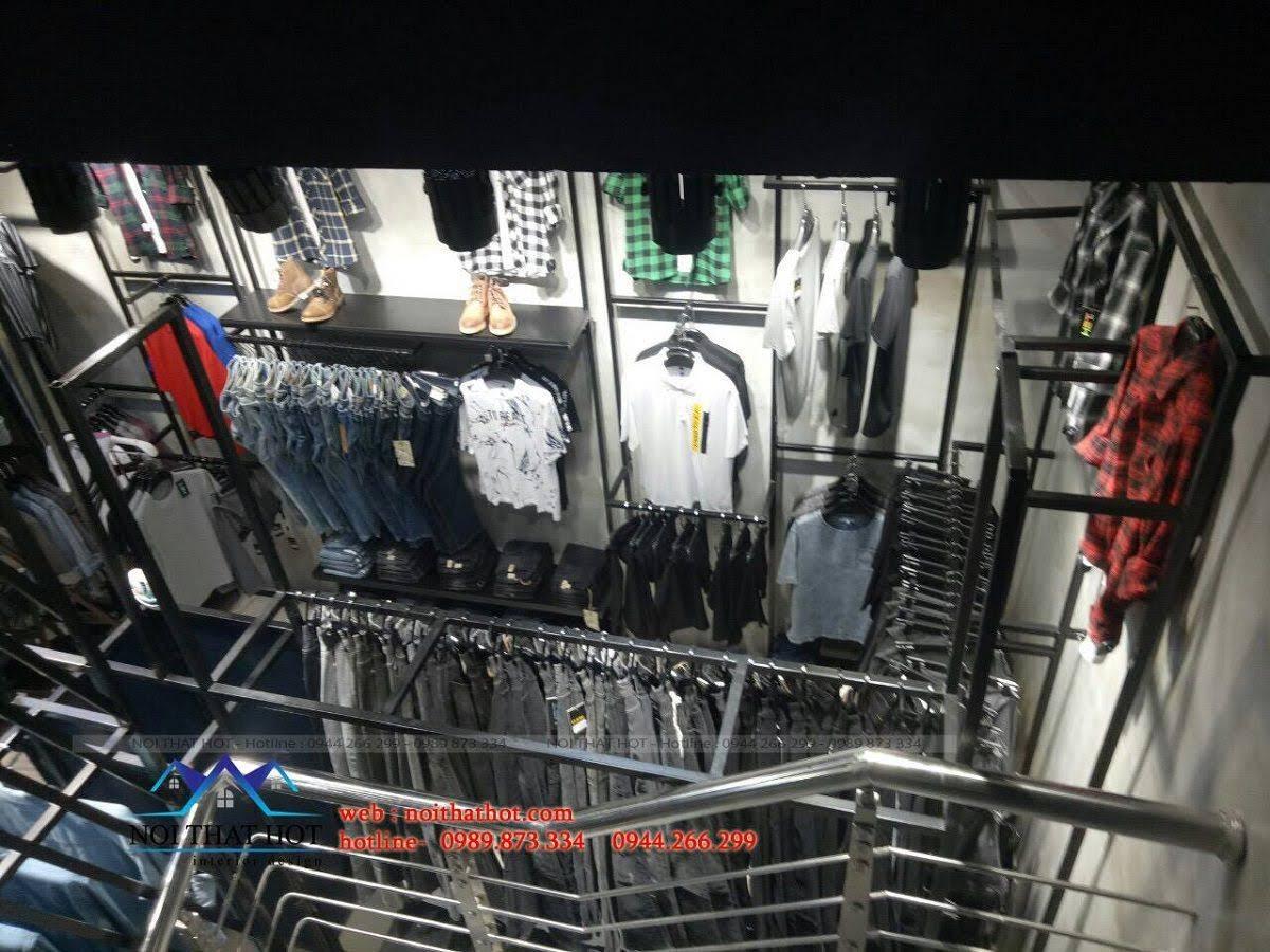 thiết kế shop thời trang nam H2T 28