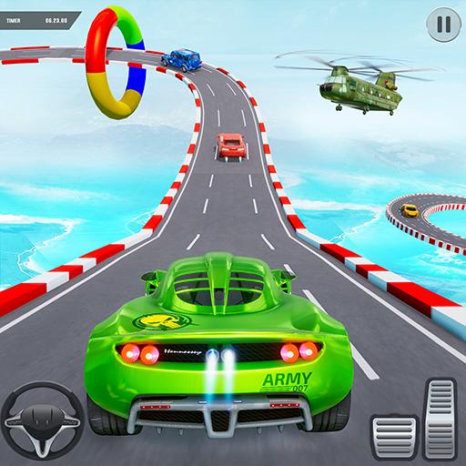 Army Car Stunt Game: Mega Ramp Car Stunts