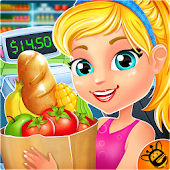 Grocery Supermarket Girls Game