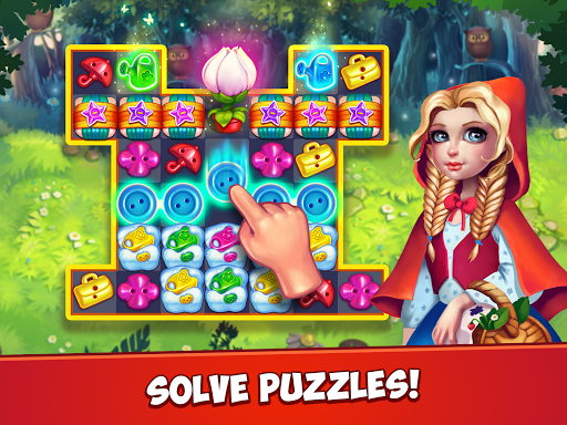 Fancy Blast: Puzzle in Fairy Tales 2.5.1 screenshots 7