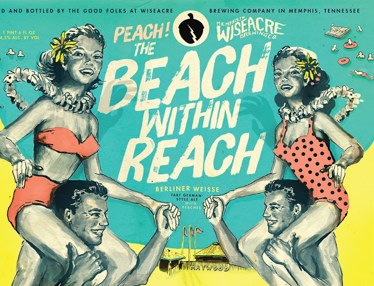 Logo of Wiseacre Peach the Beach Within Reach