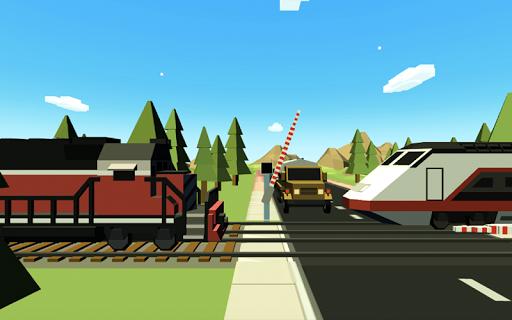 Railroad crossing mania - Ultimate train simulator apktreat screenshots 1