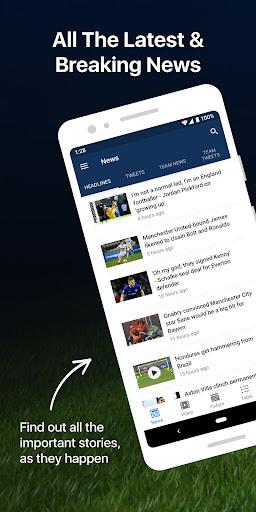EPL Live: English Premier League scores and stats 8.0.4 Screenshots 1