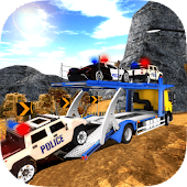 OffRoad Police Transport Trailer Truck