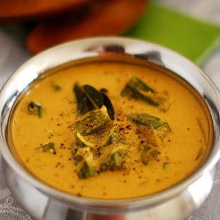 Okra (Vendakka) Curry.