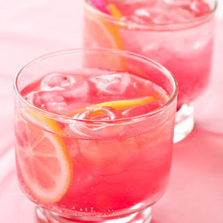 Valentines Day Drink Blushing Sparkler Recipe