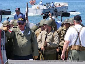 Photo: Allied troops in Higgins boat.