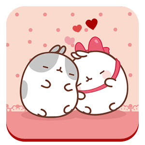 Cute Kitty Love Theme for PC