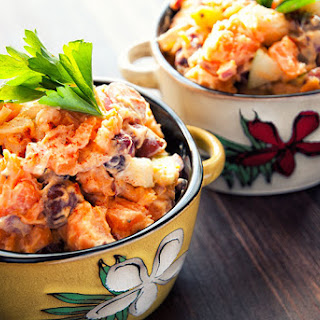 Fruity Sweet Potato Salad.
