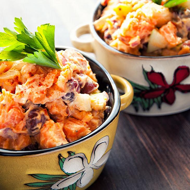 Fruity Sweet Potato Salad