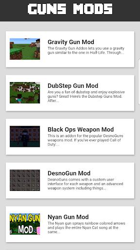 Guns Mod for MCPE 1.2.1 screenshots 2