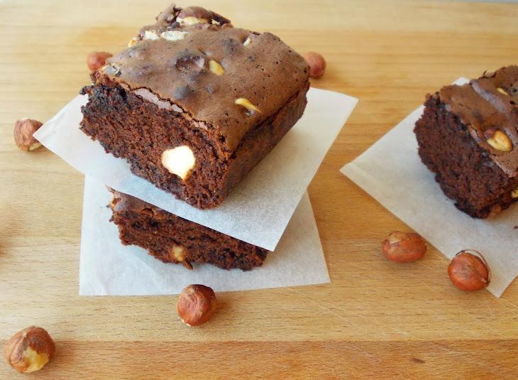 Chocolate and Hazelnut Brownies Recipe