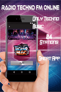 Radio Techno FM Online free stations Music full - náhled