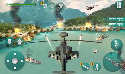 Gunship Battle Helicopter : Best Helicopter Games 2.1.0 screenshots 2
