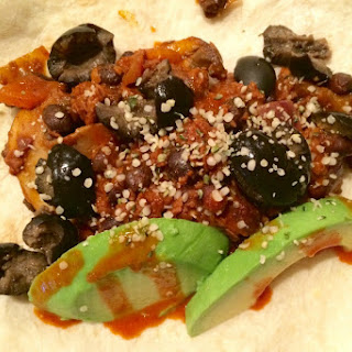 Vegan Chorizo Burritos