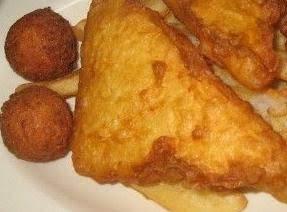 Batter For Fish, Chicken Or Shrimp