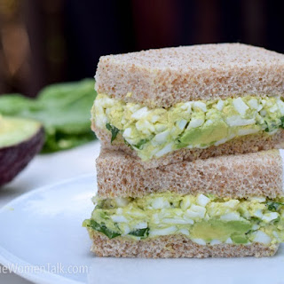 Eggs and Avocado Sandwich