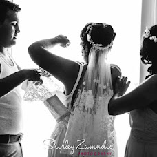 Wedding photographer SHIRLEY ZAMUDIO (shirleyzamudio). Photo of 05.09.2016