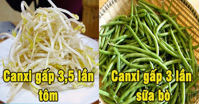 8 loại rau chứa nhiều canxi hơn cả tôm, cá, sữa không phải ai cũng biết