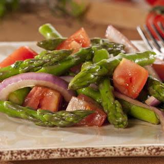 Asparagus and Tomato Salad.