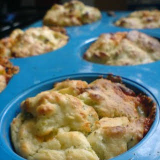 Broccoli and Cheese Muffins.