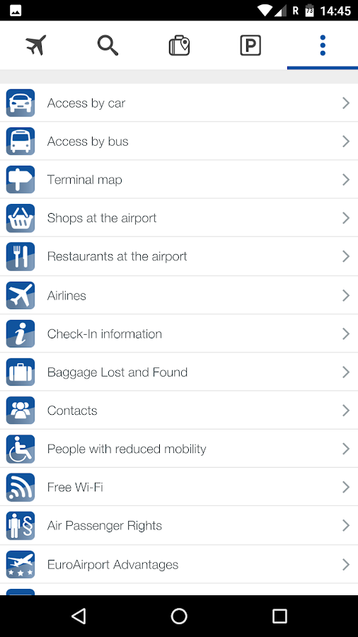 EuroAirport- screenshot