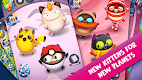 screenshot of Space Cat Evolution: Kitty collecting in galaxy