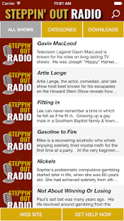 Steppin' Out Radio- screenshot thumbnail