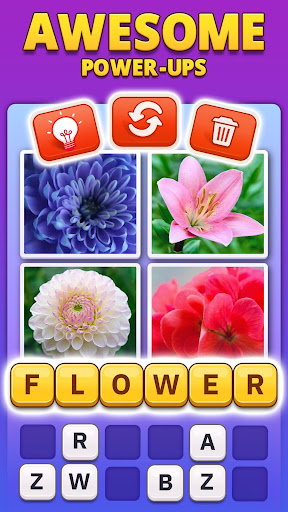 4 Pics 1 Word Pro - Pic to Word, Word Puzzle Game  screenshots 3