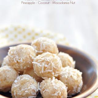 Aloha Energy Bites - Pineapple Coconut Protein Balls