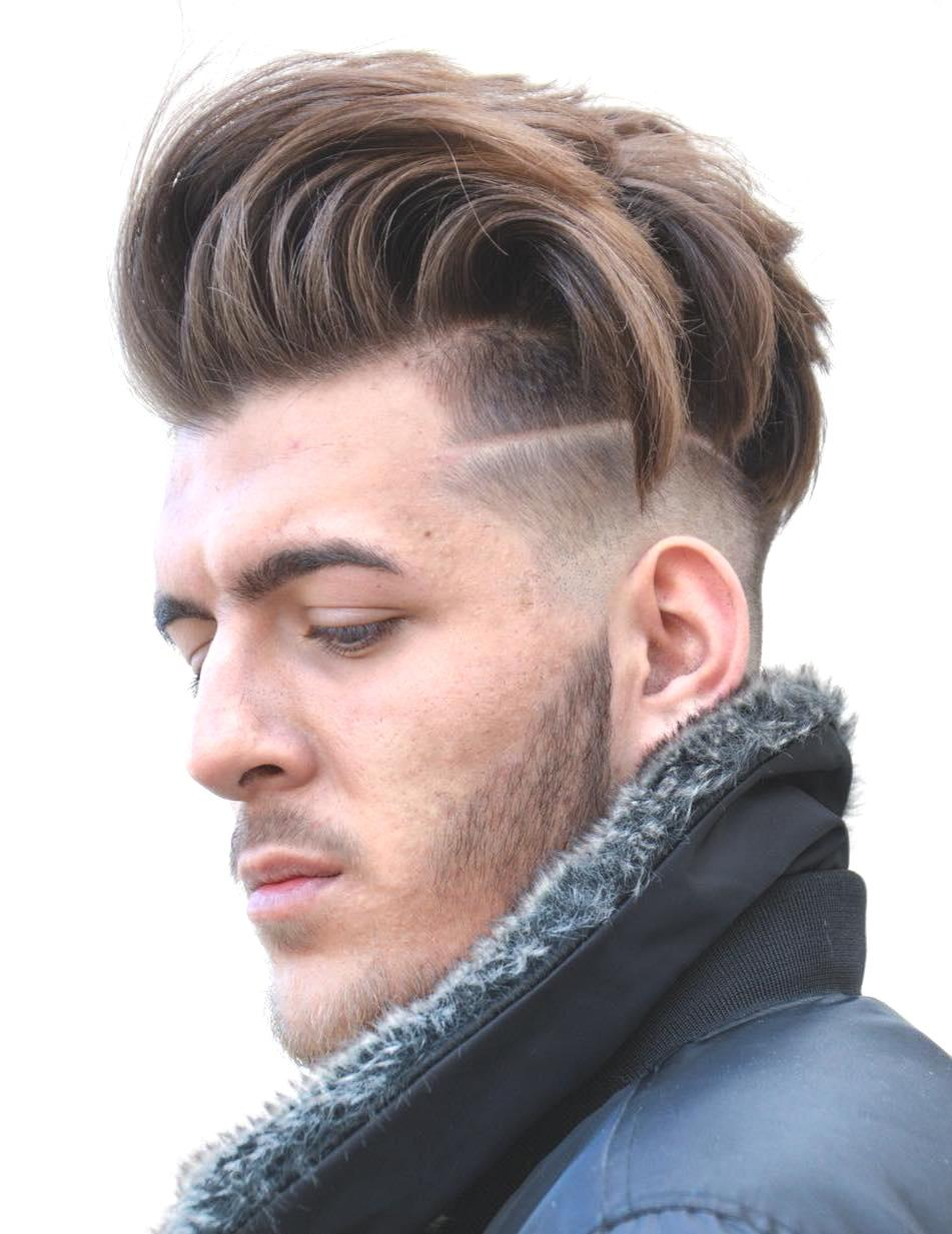 Long Hair Undercut Male