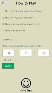 7 Little Words: A fun twist on crossword puzzles 9