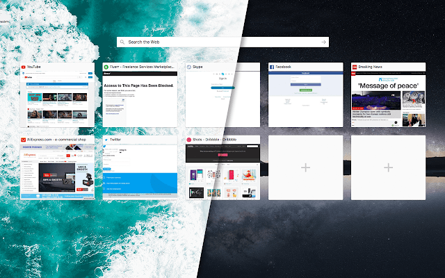 The New Tab - Customize Your Start Page