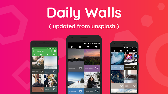 Wallzy Pro - Personal UHD Wallpapers Screenshot