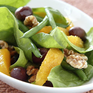 Spinach and Orange Salad.