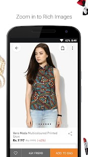 JABONG ONLINE SHOPPING APP- screenshot thumbnail
