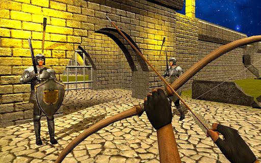 Bow Arrow Master: Castle War ( burgmauern )  screenshots 1