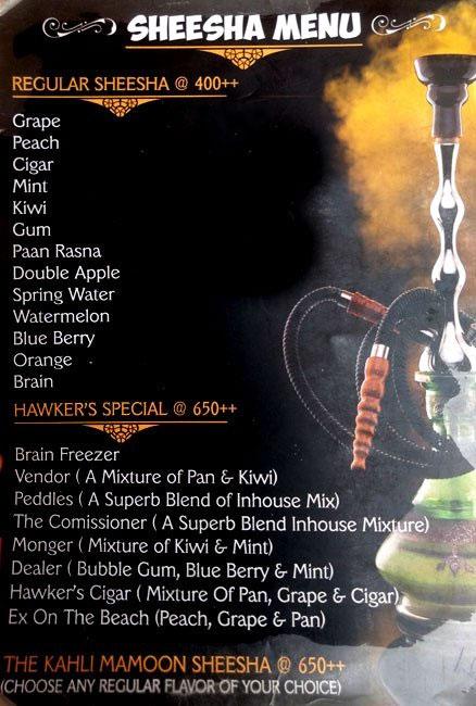 Cafe Hawkers menu 6